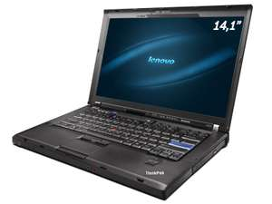 "PC portable 14.1"" Lenovo ThinkPad R400 - Core 2 Duo P8400 2.26 GHz (3 GB RAM, 160 GB HDD, Windows 7) - reconditionné"