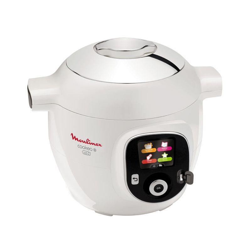 Cuiseur Moulinex Cookeo USB+ CE853100  avec 150 Recettes