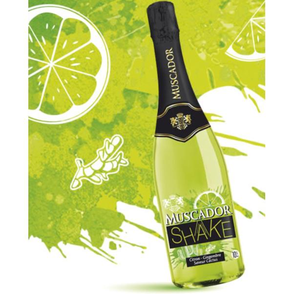 Vin effervescent Muscador Shake 100 % remboursé (via ODR)