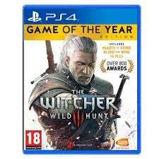 The Witcher 3 Wild Hunt Game Of The Year (GOTY) sur PS4