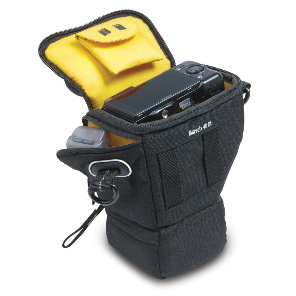 Sac Kata KT DL-MX-40 pour appareil photo hybride et objectif supplémentaire
