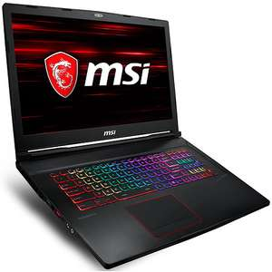 """PC Portable 17,3"""" MSI - Intel Core i7-8750H 8 Go SSD 256 Go + HDD 1 To  LED Full HD 120 Hz NVIDIA GeForce GTX 1070 8 Go + Black Ops 4 offert"""