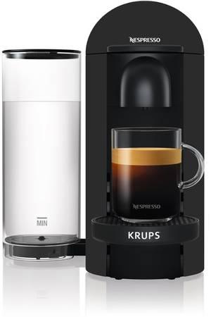 Cafetière à capsule Krups Nespresso Vertuo Plus YY3922FD - Noir Mat