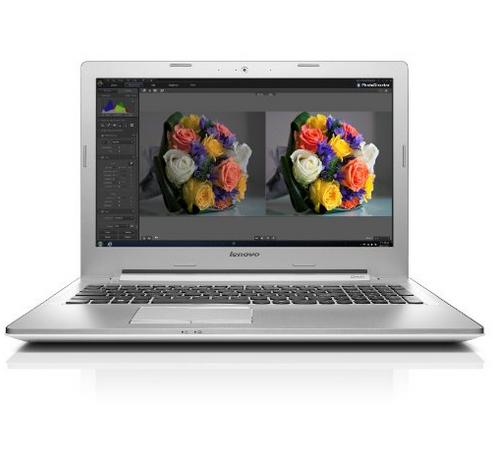 """PC portable 15"""" Lenovo Z50-70 - Intel Core i7, 8 Go de Ram, 1 To, GeForce GT820M, Windows 8.1 - Blanc (via ODR TVA)"""