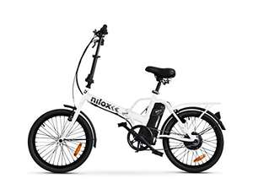 Vélo Électrique Pliant Nilox E Bike X1 New - Blanc