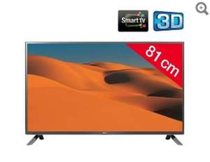 "TV 32"" LG 32LF650V LED 3D Smart TV"