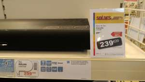 Plateau sonore Philips SoundStage HTB4150B - Smart TV / Blu-ray 3D / Bluetooth / NFC