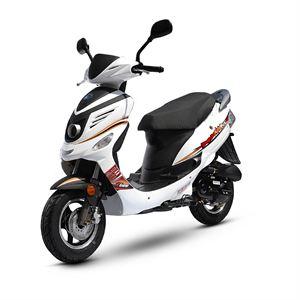 REVENGER Scooter 4T 50cc Blanc