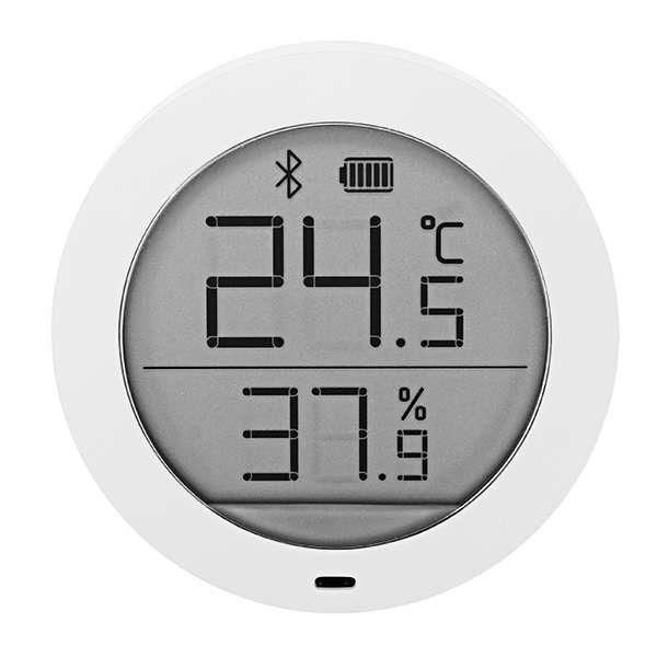 Capteur de température et d'humidité Xiaomi Mijia Thermostat - Bluetooth, Ecran LCD