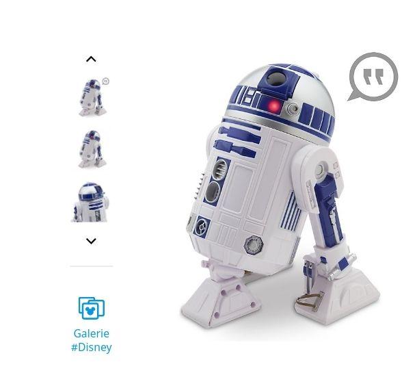 R2D2 figurine articulée interactive starwars ou BB8
