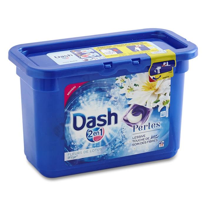 Sélection d'optimisations avec points Olé doublés - Ex : Lessive Dash 2 en 1 Perles & Fleurs de Citronnier gratuite