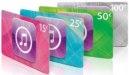 15% de réduction sur les cartes iTunes & AppStore