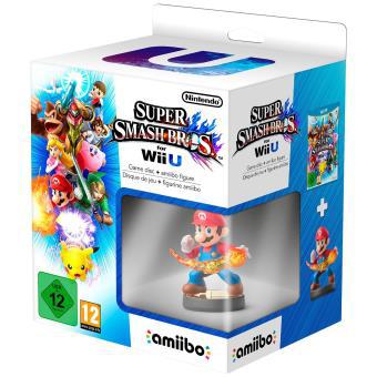 Super Smash Bros Wii U + Figurine Amiibo Mario