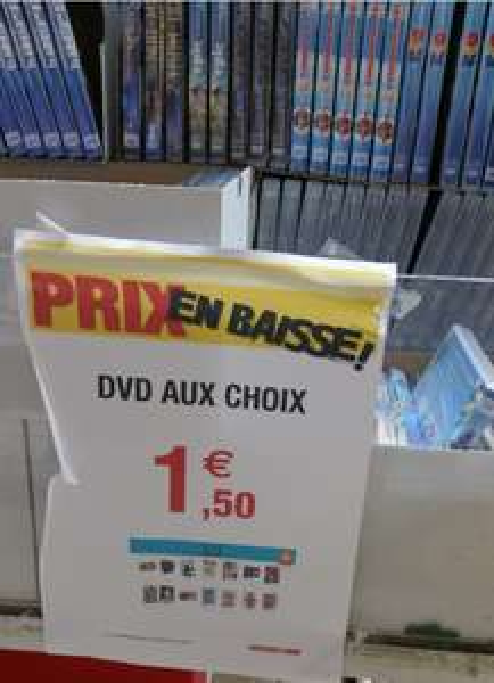 Sélection de DVD en promotion