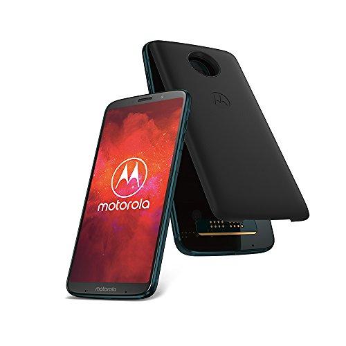 "Smartphone 6"" Motorola moto z3 play + moto Power Pack + moto Style Shell"
