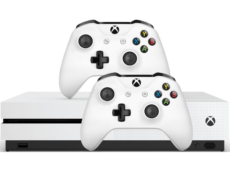 Sélection de pack Xbox One S 1To + 1 élément supplémentaire - Ex : Xbox One S 1To + Deuxième manette (Frontalier Belgique)