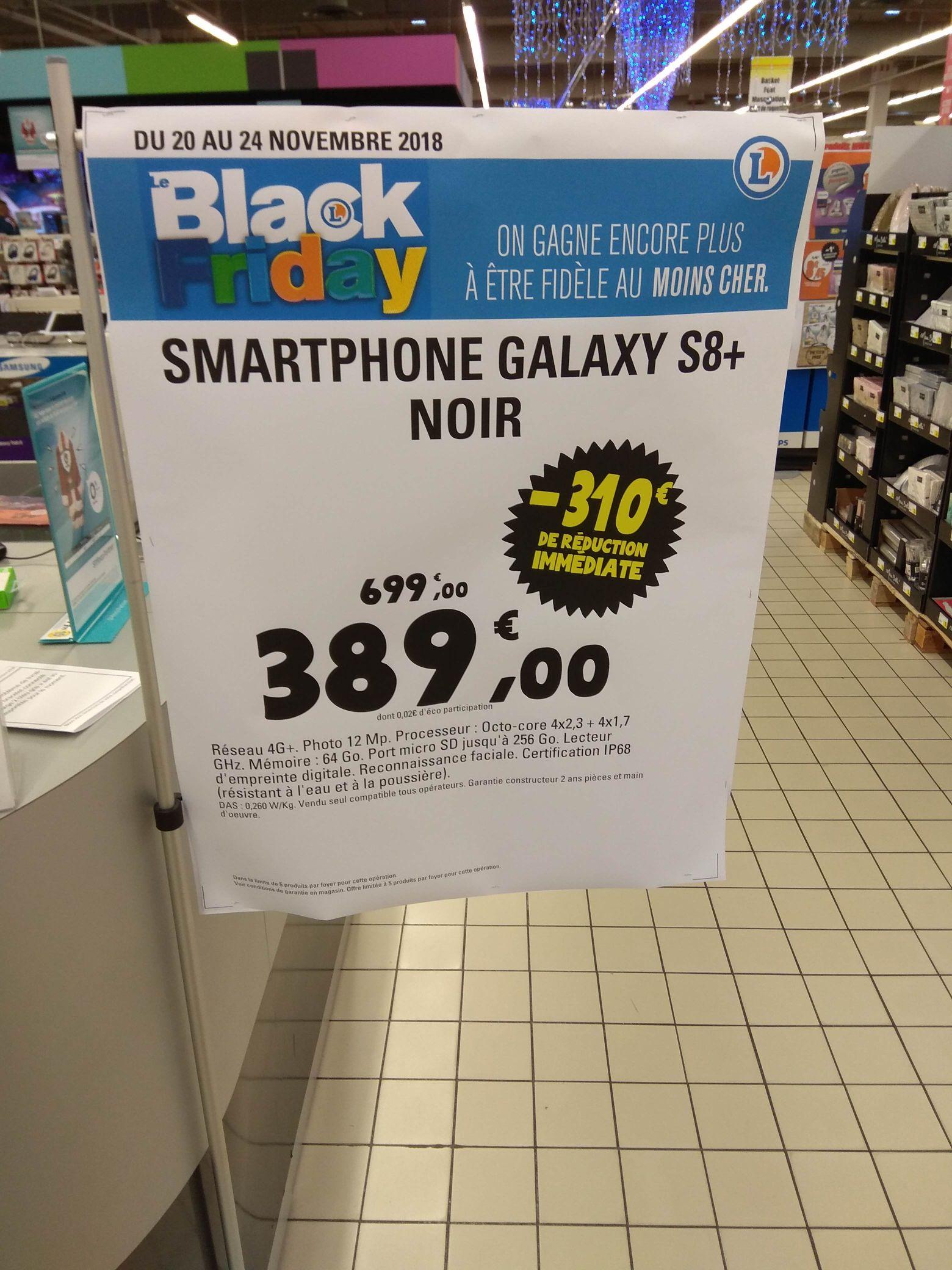 Smartphone Samsung Galaxy S8 Plus - Leclerc St orens (31)