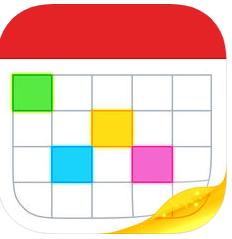 Application Fantastical 2 sur iOS