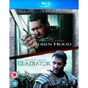 Robin des bois + Gladiator  [Blu-ray]