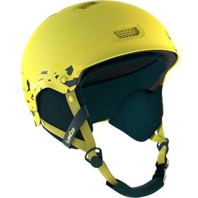Casque de ski et snowboard adulte H-FS 300 JR jaune. WED'ZE