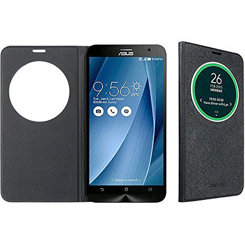 Etui Asus View Flip Cover Deluxe pour smartphone Zenfone 2