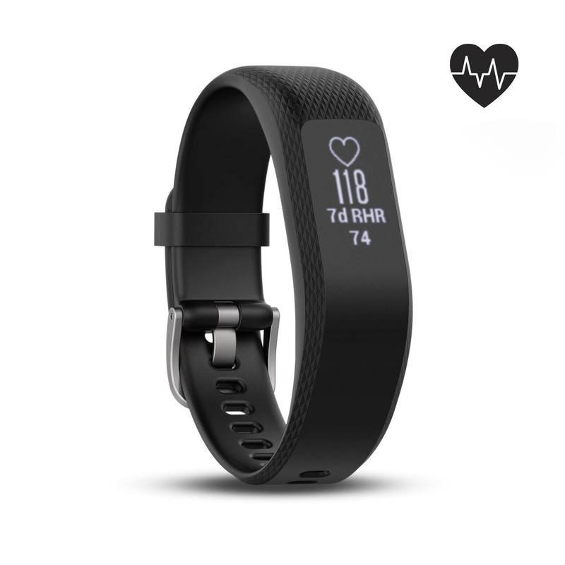 Bracelet d'activité Garmin vivosmart 3 - Noir, Taille S/M