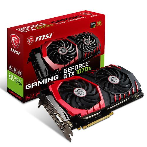 Carte graphique MSI GeForce GTX 1070 Ti GAMING 8G