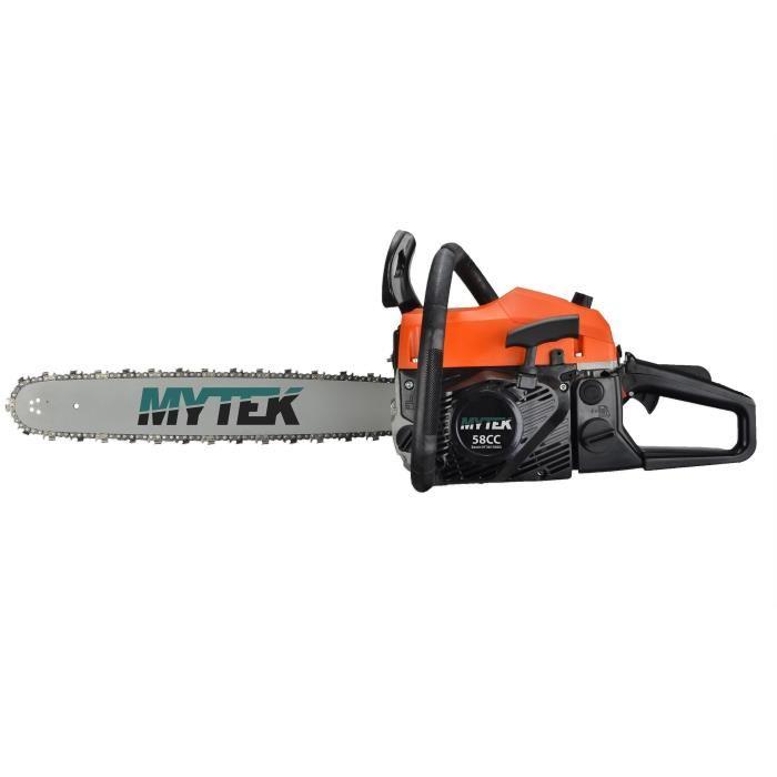 Tronçonneuse thermique MYTEK - 58cc, 50cm