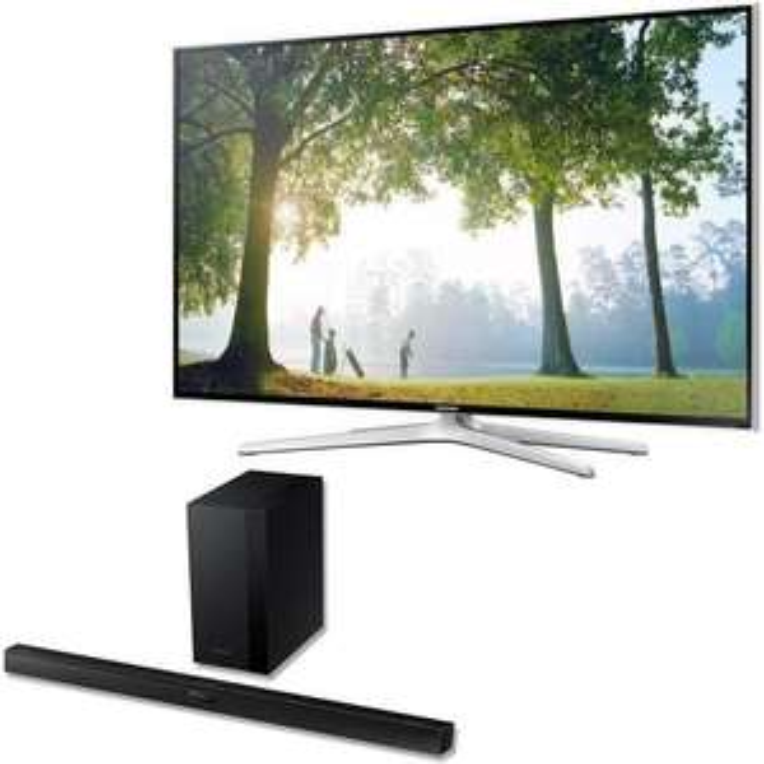"TV 48"" Samsung UE48H6400 3D Full HD + Barre de son Samsung HW-H450 (Avec ODR)"