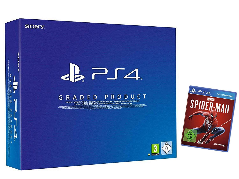 Console Sony PS4 500 Go Recontionnée + Jeu Spiderman sur PS4
