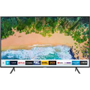 "TV 75"" Samsung UE75NU7175 - LED, 4K UHD, HDR 10 , Smart TV, WiFi, 100Hz  (via ODR de 600€)"