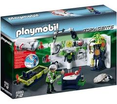 Playmobil 4880 - Laboratoire du Robo-Gang et lampe multifonctions