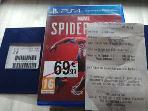 Console Sony PS4 Pro (1 To) + Spiderman (National)