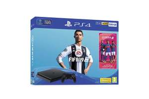 Console Sony PS4 Slim (500 Go) + FIFA19 + Pack Joueurs Rares