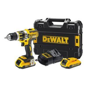 Perceuse-visseusse à percussion DeWalt DCD795D2 - 18V + 2 Batteries Li-Ion 2.0Ah