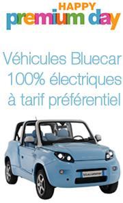 [Membres Premium] Bon d'achat pour la réservation d'une voiture électrique Bluecar à 9700€ ou 14900€ selon modèle