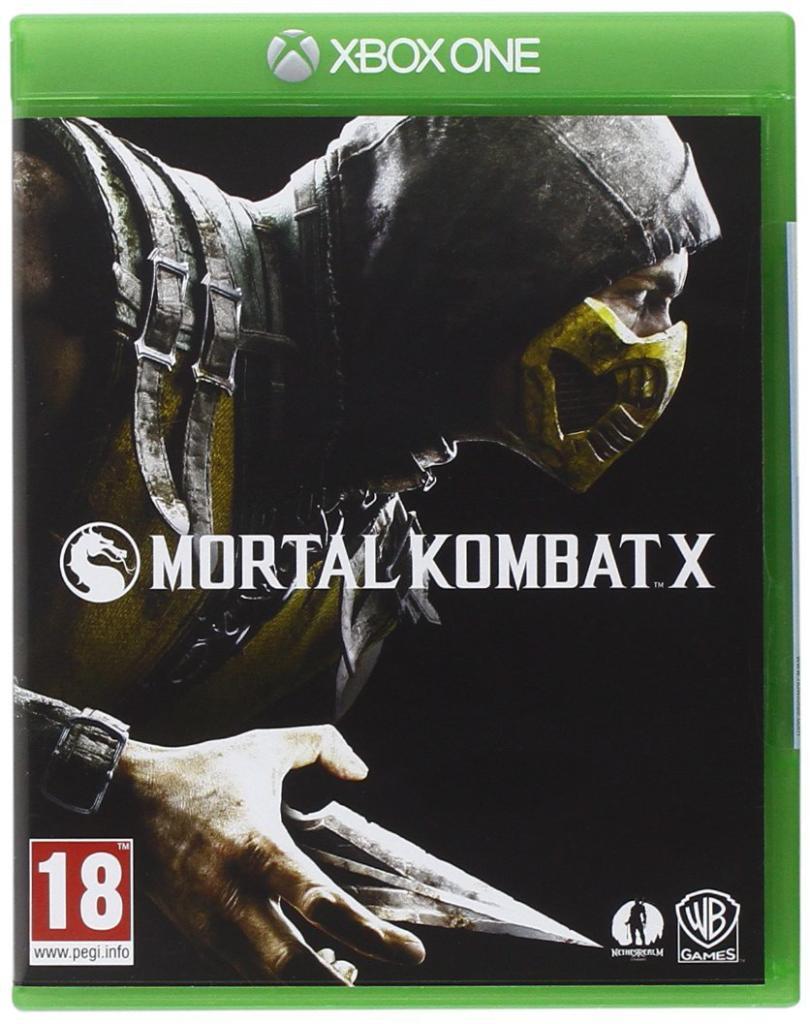 [Membres Premium Amazon.it] Jeu Mortal Kombat X sur Xbox One et PS4