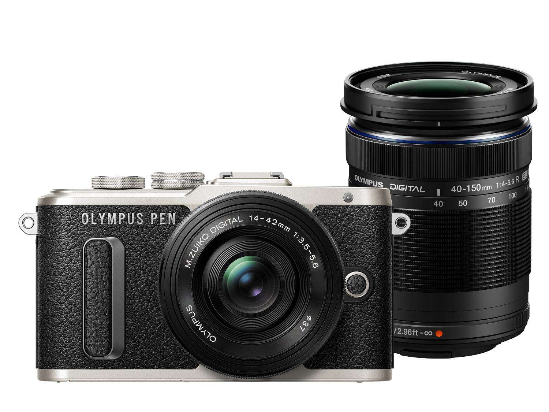 Appareil Photo OLYMPUS PEN E-PL8 + Objectif M.ZUIKO DIGITAL ED 14‑42MM + Objectif M.ZUIKO DIGITAL ED 40‑150MM
