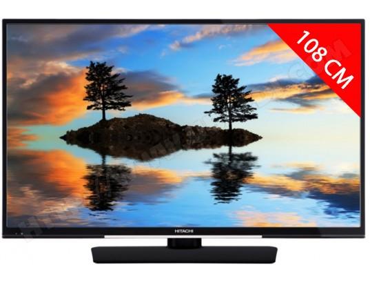 "TV 43"" Hitachi 43HK4W04 - UHD, 3 ports HDMI"