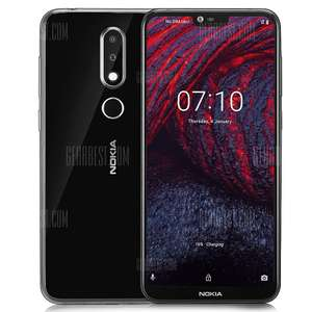 "Smartphone 5.8"" Nokia X6 - Full HD+, 4 Go de RAM, 64 Go de ROM, sans B20 (Version Internationale - Vendeur tiers)"