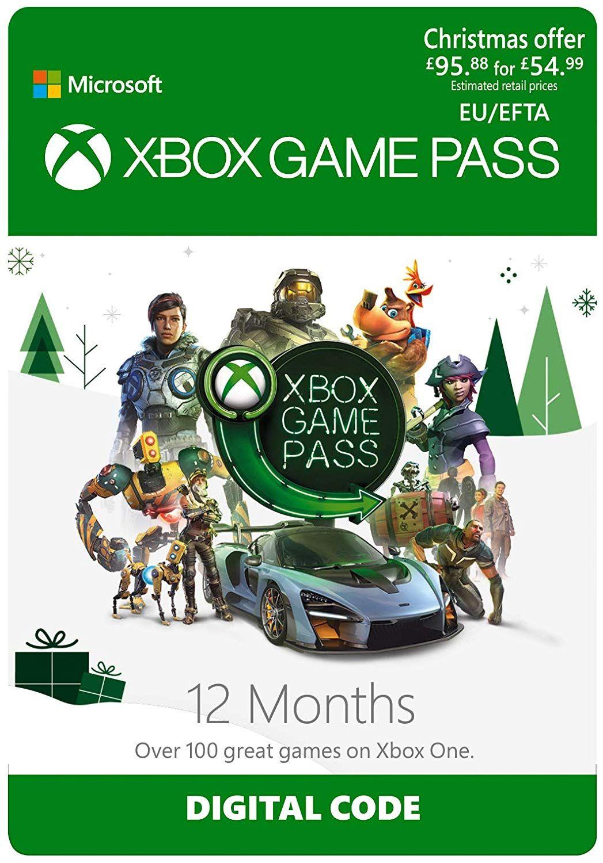 Abonnement 12 mois Xbox Game Pass (Dématérialisé)