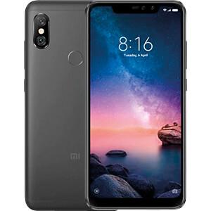 "Smartphone 6.26"" Xiaomi Redmi Note 6 Pro Noir - FHD+, Snapdragon 636, 3 Go RAM, 32 Go, 4G Version Globale (B20) (Entrepôt UE)"