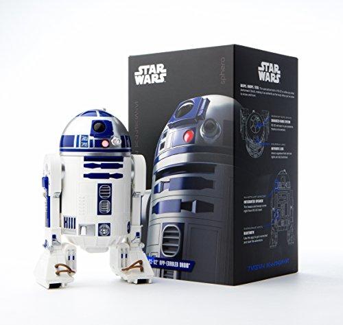 Robot Star Wars Pilotable Sphero R2-D2 compatible iOS et Android (frais de port et taxes inclue)