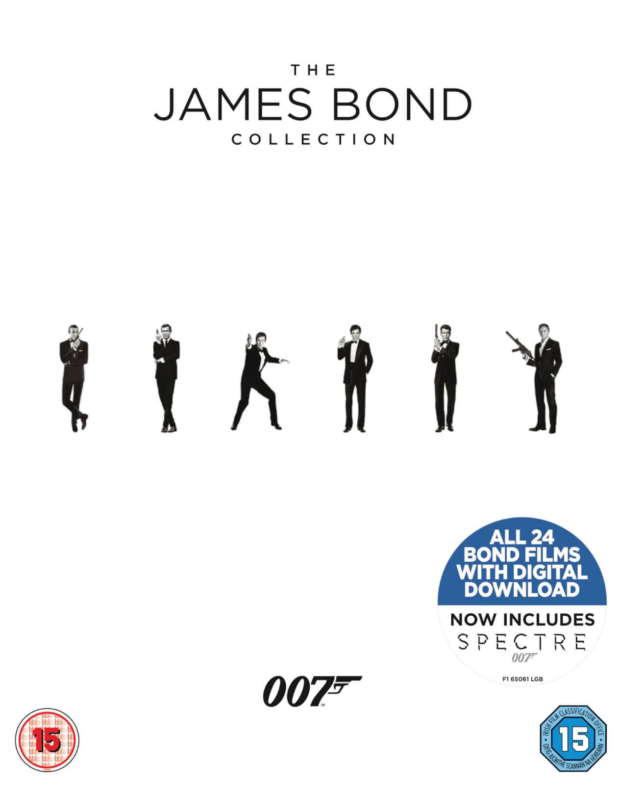 Coffret Blu-Ray The James Bond Collection - 24 films (Intégrale)