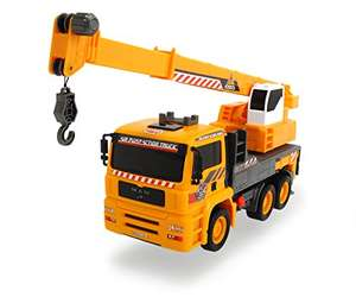 Camion Grue Dickie Toys 203806003 - Jaune / Gris