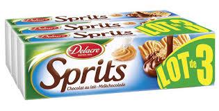Lot de 3 paquets Biscuits Delacre Sprits (via 2,73€ sur la carte fidélité)