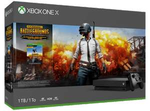 Pack console Microsoft Xbox One X + Playerunknown's (Frontaliers suisses)