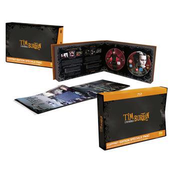 Coffre Blu-ray: Integrale Tim Burton 15 films