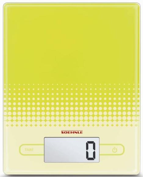 Balance électronique Soehnle 66203 - City Vert - 5 Kg
