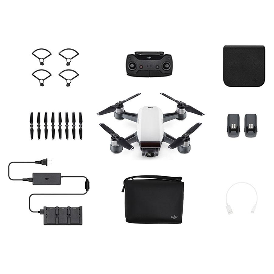 Mini Drone Quadricoptère DJI Spark Fly More Combo - WiFi FPV, Caméra Full HD / 12 MP